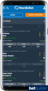 Nordicbet Sports Betting App